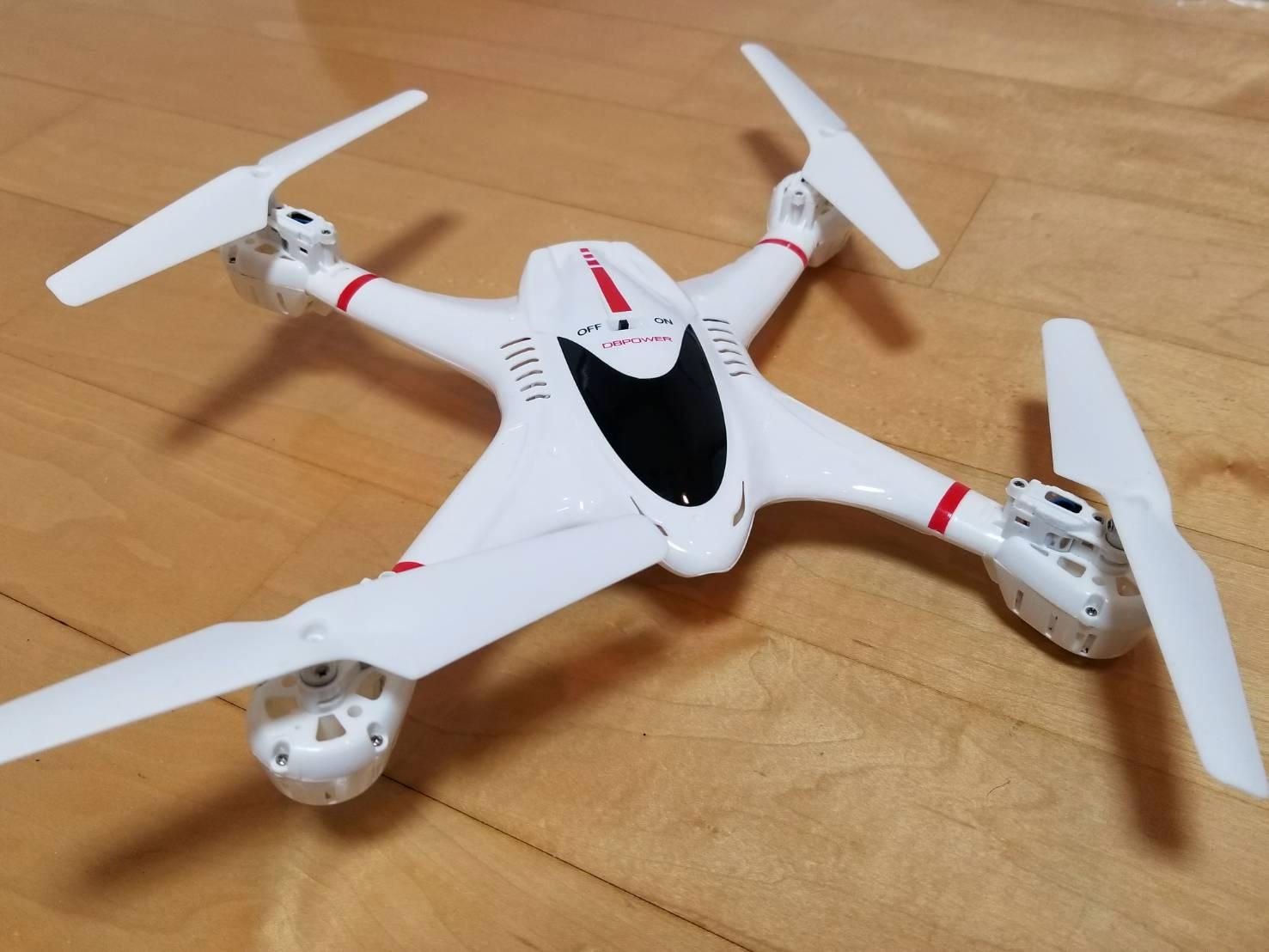 ドローン MJX X400W 機体 デザイン 白