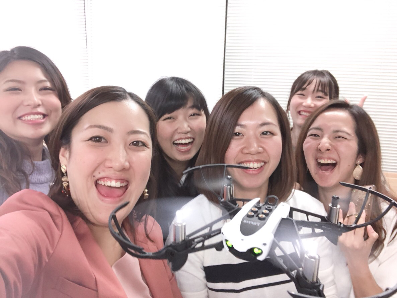 関西でドローン体験 懇親会