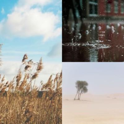 ドローンと天気のお話♪飛行の際には「雨」「風」「砂」に注意です☆