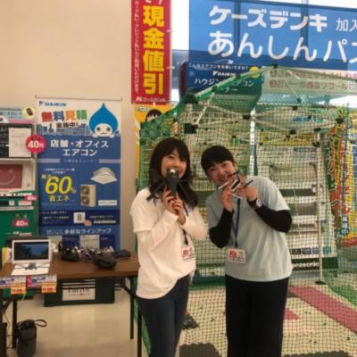 ケーズデンキHAT神戸店にて行った「ANAFI」「Mambo」の実演販売レポートです♪